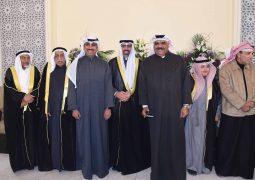 نجوم الكويت يزدحمون في حفل زفاف التركماني