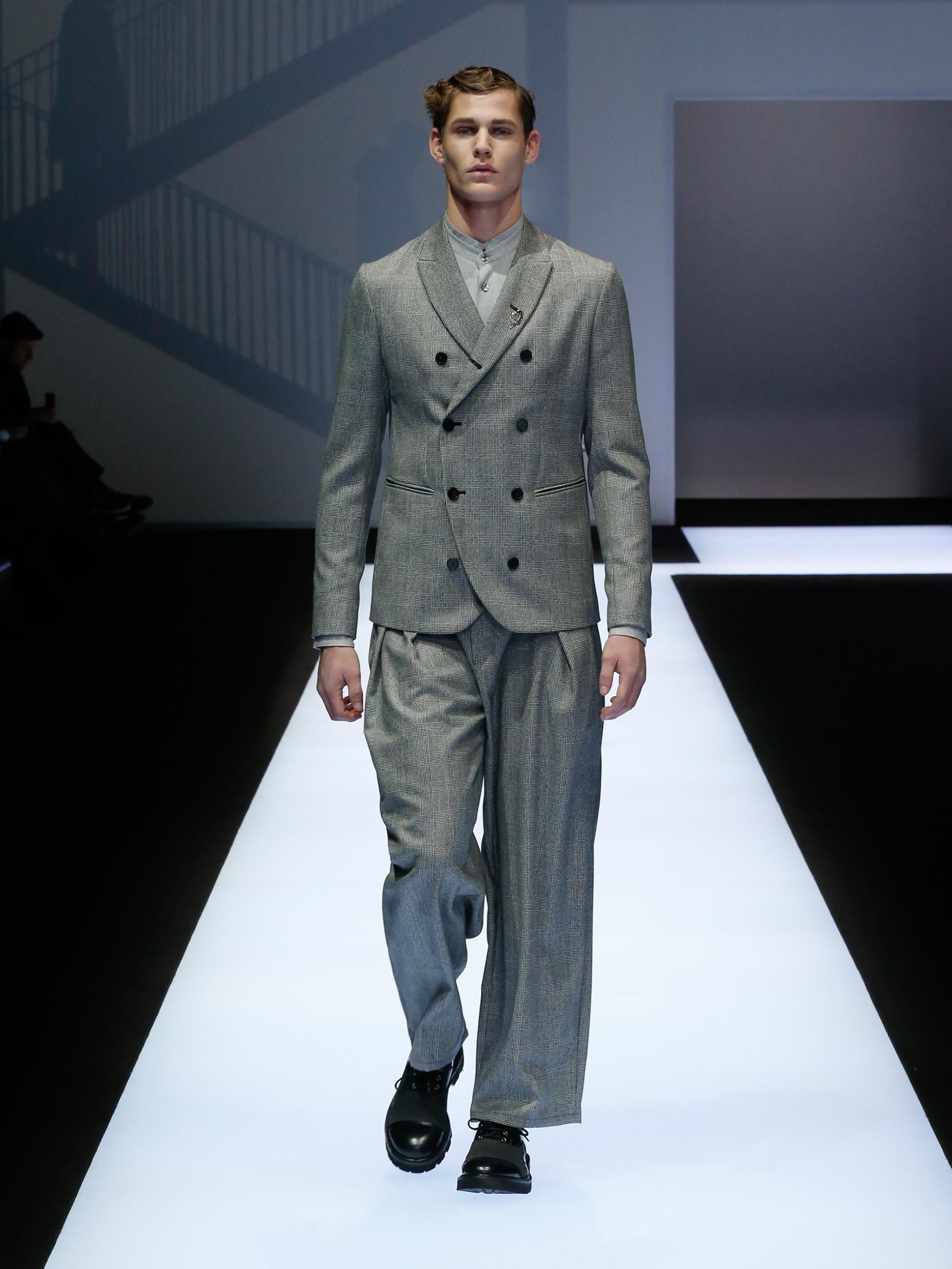 Emporio Armani Menswear FW17-18 (1)