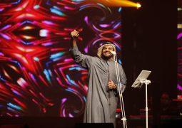 بالصور حسين الجسمي والجمهور يشعلون حفل مهرجان قطر للتسوق طرباً