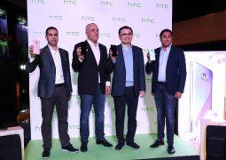 إتش تي سي تطلق فئة هواتفها الجديدة بملامح مستقبلية