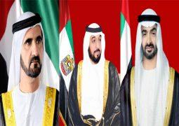 رئيس الدولة ونائبه ومحمد بن زايد يهنئون رؤساء وملوك الدول الصديقة بالعام الميلادي الجديد 2017.