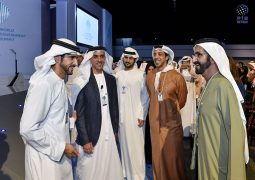 محمد بن راشد يحضر جلسة سيف بن زايد في القمة العالمية للحكومات 2017