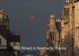 حدوث ضجة  في بلدة فرنسية بسبب جسم غريب يحوم في السماء