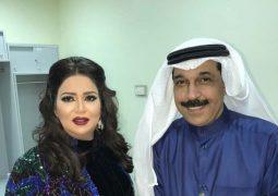 نوال الكويتية تتألق مع عبدلله الرويشد في حفل الأحمدي