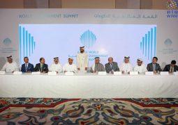 بحضور محمد بن راشد/ توقيع اتفاقات الشراكة الجديدة للقمة العالمية للحكومات