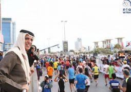 سعود بن صقر يتوج الكيني بيدان كاروكي بطلا لنصف ماراثون رأس الخيمة العالمي
