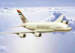 """""""الاتحاد للطيران"""" تمنع الأجهزة الأكبر حجما من المحمول على رحلاتها للولايات المتحدة"""
