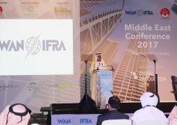 نهيان بن مبارك يفتتح مؤتمر الجمعية الدولية للصحف وناشري الأخبار في الشرق الأوسط
