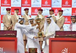 """""""أروجيت"""" يفوز بكأس دبي العالمي لسباق الخيل الدورة """"الثانية والعشرين """""""