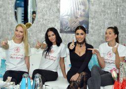 ليلى اسكندر تحتفل مع الناس في دبي بيوم السعادة