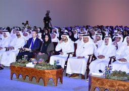 حمدان بن محمد يشهد افتتاح منتدى الدبلوماسية العامة والاتصال الحكومي