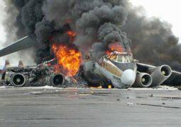 حادث طائرة أليم يودي بحباة 6 أشخاص