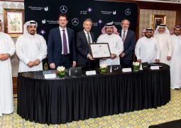 دايملر للمركبات التجارية الشرق الأوسط وشمال إفريقيا والجفالي للمعدات الصناعية (جيبكو) تستكملان صفقة رئيسية تشمل 539 شاحنة من مرسيدس-بنز مع شركة الخالدي السعودية