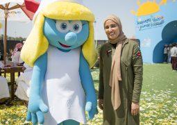 الأمم المتحدة واليونيسف ونخبة من نجوم فيلم ''سميرفز: ذا لوست فيليج' يحتفلون باليوم العالمي للسعادة
