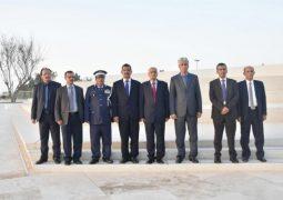 وزير الداخلية اليمني يزور واحة الكرامة