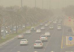 """الوطني للارصاد/تقلبات جوية """" 20 الى 22 مارس """"وتوقعات بسقوط أمطار على مناطق متفرقة من الدولة"""