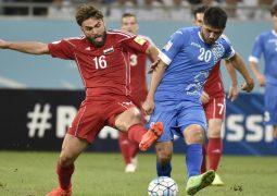 سوريا تخطف فوزآ مهمآ  وتنعش آمالها في التأهل لمونديال روسيا