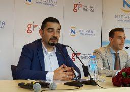نيرفانا للسفر والسياحة توقع إتفاقية تعاون   مع شركة جي آي للطيران الخاص في الامارات