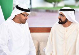 بالفيديو محمد بن راشد ومحمد بن زايد يلتقيان يوم أمس