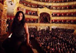 سلاف فواخرجى فى مسرح البولشوى الروسي وتصور  غرفة تشيكوف