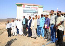 «خليفة الإنسانية» تدشن أكبر سد خرساني في الصومال