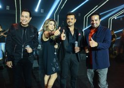 """نوال الزغبي في  """"ميكس ميوزيك"""" على شاشة تلفزيون دبي مع حكيم وسامو زين"""