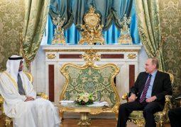محمد بن زايد يبحث مع بوتين تعزيز الصداقة وقضايا إقليمية ودولية