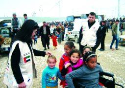 جهود إماراتية متواصلة لإغاثة الشعوب المنكوبة