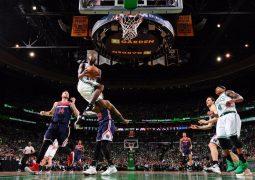 بوسطن سلتيكس يحقق  فوزه الثالث على ضيفه واشنطن ويزاردز بفارق 22 نقطة 123-101