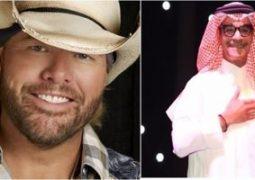 حفل موسيقى لرابح صقر والمطرب الأمريكى توبى كيث فى الرياض