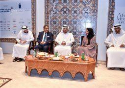 مكتوم بن محمد يلتقي مجلس إدارة جائزة الصحافة العربية