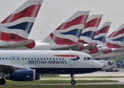 """""""جسم غريب"""" يُعطل مئات الرحلات الجوية في بريطانيا"""