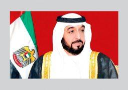رئيس الدولة : القوات المسلحة تسهم في نصرة الحق وصون الأمن العربي