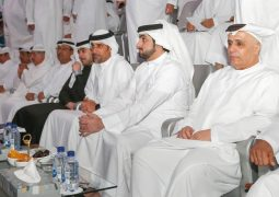 حمدان بن محمد يشهد انطلاق دورة ند الشبا