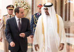 محمد بن زايد: الإمارات حريصة على توطيد العلاقات مع مصر والدفع بها إلى آفاق أرحب