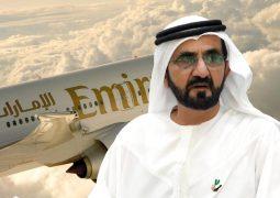 محمد بن راشد: «طيران الإمارات» تكمل قصة توسّع ونجاح غير مسبوقة