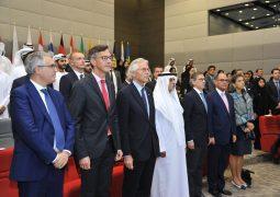 نهيان بن مبارك يشهد الاحتفال بيوم أوروبا في مقر أكاديمية الإمارات الدبلوماسية