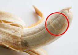 فوائد خيوط الموز!