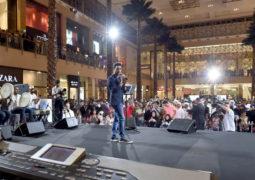 """فؤاد عبد الواحد يشعل جوانب """"سيتي سنتر مردف""""  في مهرجان صيف دبي 2017"""