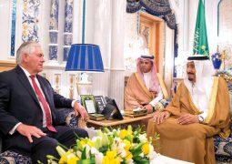 وزراء خارجية الدول الـ 4 يبحثـون مع تيلرسون أزمة قطر