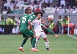 الإمارات تستضيف المنتخب السعودي في قمة خليجية لا تقبل القسمة اليوم