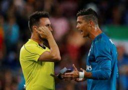 إيقاف رونالدو 5 مباريات