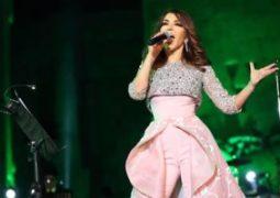 سميرة سعيد تتألق فى حفل مهرجان بعلبك فى لبنان
