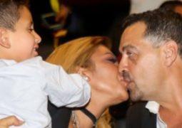 قبلة رومانسية بين أصالة وزوجها المخرج طارق العريان