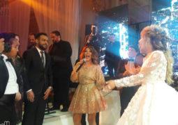 """الديفا سميرة سعيد تشعل حفل زفاف """"جنات"""""""