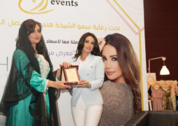"""ديانا حداد تشارك في دعم وتشجيع المرأة بمعرض """"مرابع العيد"""" في أبوظبي"""