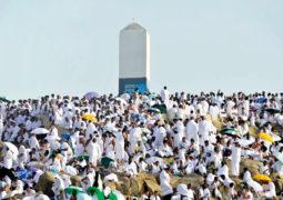 حجاج الدولة إلى «عرفات» اليوم