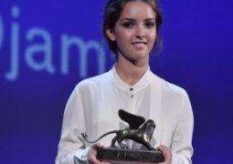 لينا خضيرى تفوز بجائزة Orizzonti أفضل ممثلة بمهرجان فينسيا