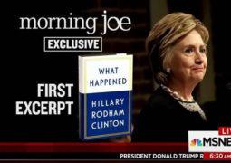 """كتاب  """"هذا ما حدث"""" لهلاري كلينتون  يتصدر قوائم الأكثر مبيعاً"""