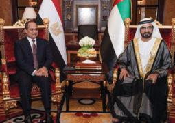 محمد بن راشد: الإمارات ومصر تجمعهما علاقة أخوية مصيرية في السراء والضراء